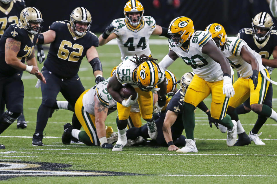 NFL assigns referee Carl Cheffers to work Saints-Packers
